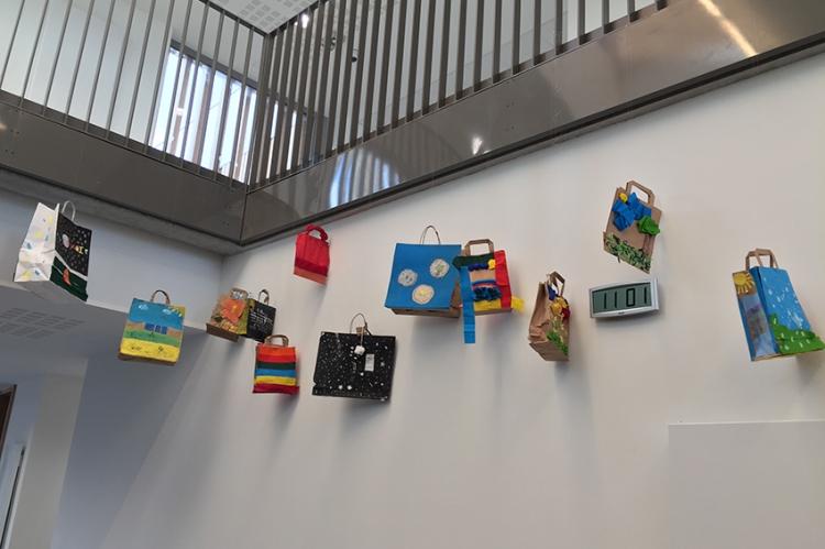 Exposition « Le temps suspendu » des élèves de 5ème