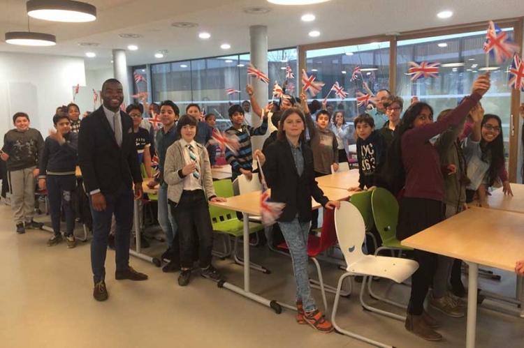 « English Breakfast » : petit déjeuner Anglais au collège Simone Veil