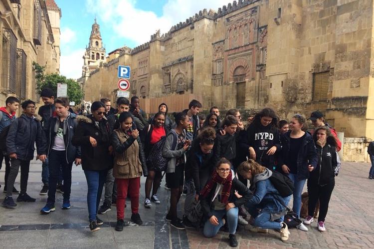 2ème journée du voyage en Andalousie dans la ville de Cordoue