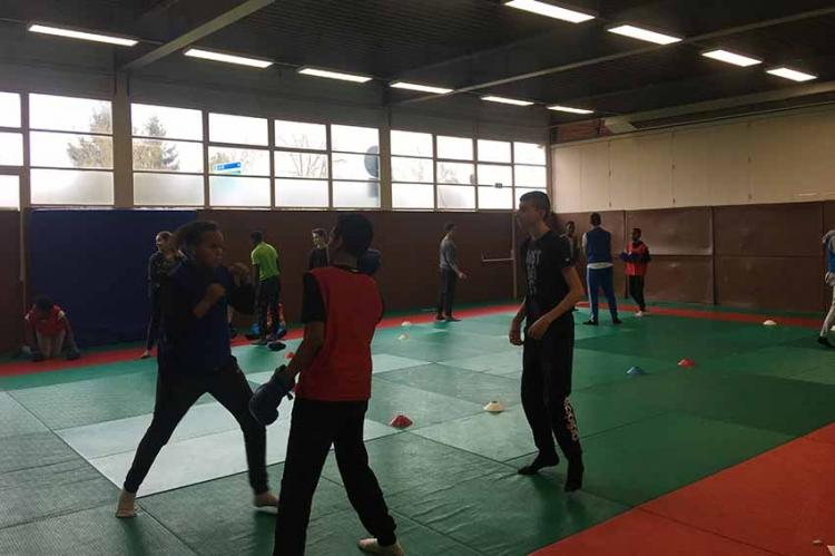 L'Éducation Physique et Sportive au collège Simone Veil