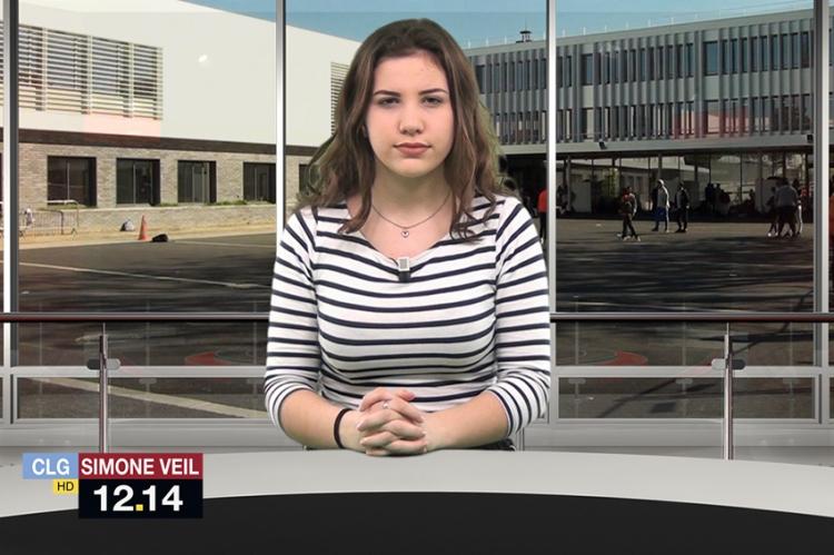 """1ère édition du """"12.14"""", le Journal Télévisé du collège"""